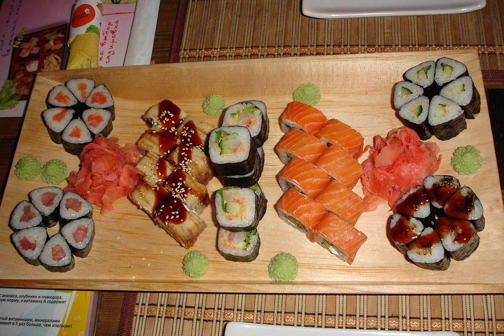 Апетитні страви від Фудзіяма